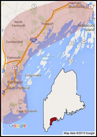 service map area